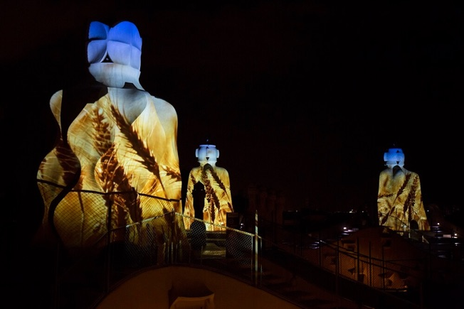 visit la pedrera by day and night